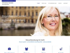 Screenshot steuerkanzlei-suenkel.de